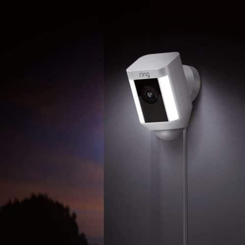 Ring spotlight camera, slimme beveiligingscamera