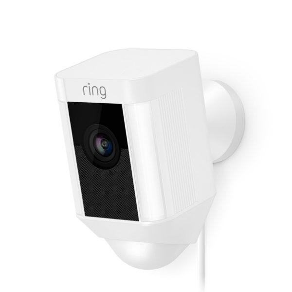 Ring deurbel, spotlight cam bedraad