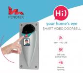 Fenotek, slimme deurbel, smart bel, hoe werkt slimme deurbel, slimme deurbellen, deurbel met camera, wifi deurbel