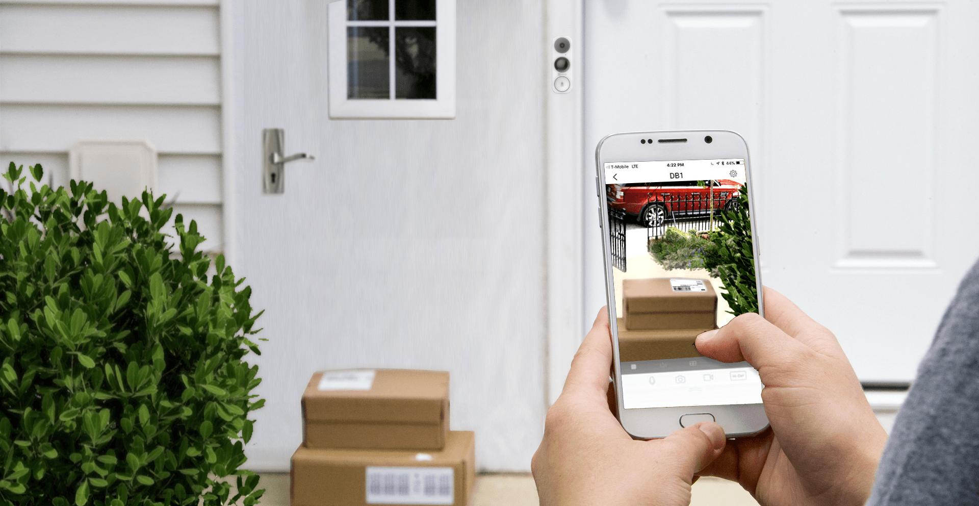 EZVIZ deurbel, slimme deurbellen, deurbel met camera, wifi deurbel