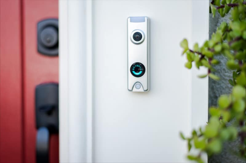 Skybell Trim Alu, wifi deurbel, video deurbel