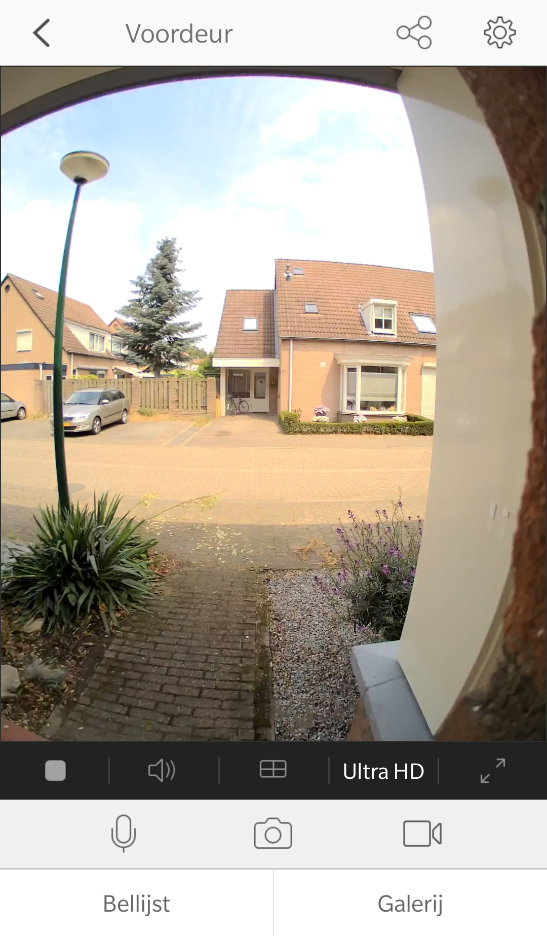EZVIZ. fish eye, deurbel, slimme deurbel, wifi, camera