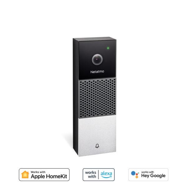 Netatmo, video deurbel, wifi deurbel