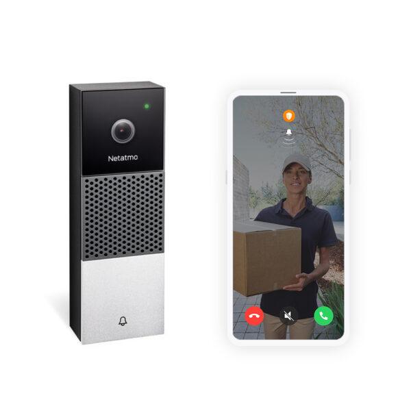 Netatmo, slimme deurbel, video deurbel, wifi deurbel, homekit